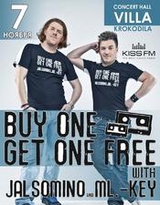 Buy One Get One Free @ Villa Krokodila, Полтава