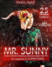 MR.Sunny @ Music Hall, Запорожье