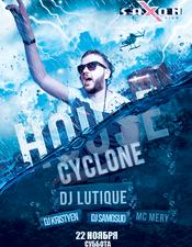 Kristyen, DJ Lutique @ Saxon, Киев