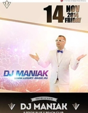 DJ Maniak @ Rixos Sharm El Sheikh Blue X Beach Club