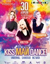 Ira Champion, Kristyen, Rey-na @ KISS Май Dance, Saxon, Киев