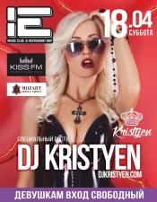 Kristyen @ YO club, Одесса