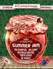 Summer Jam by KISS FM @ Forsage, Киев