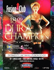 Ira Champion @ Fusion Club, Кировоград