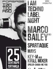 Marco Bailey, Mays @ Forsage, Киев