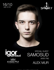 Igor Samosud @ Smoky Bar, Киев