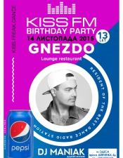 DJ Maniak @ Gnezdo, Одеса