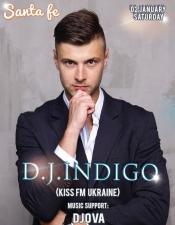 DJ Indigo @ Santa Fe, Барышевка