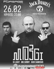 Mozgi @ Forsage, Киев