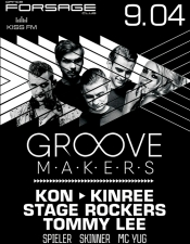 The Groove makers @ Forsage, Киев