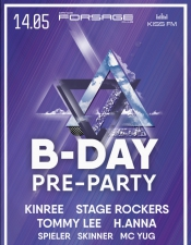 For10age B-day pre-party @ Forsage, Киев
