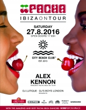 Pacha Ibiza On Tour @ City Beach Club, Киев