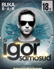 Igor Samosud @ Buka Bar, Буковель
