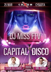 House Punks Capital Disco 25.05.2013 @ Saxon Club Киев