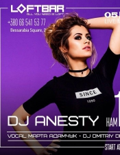 DJ Anesty @ Loft bar, Киев