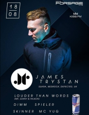 James Trystan, Louder Than Words @ Forsage, Киев