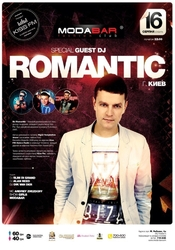 DJ Romantic @ MODA BAR, Хмельницкий