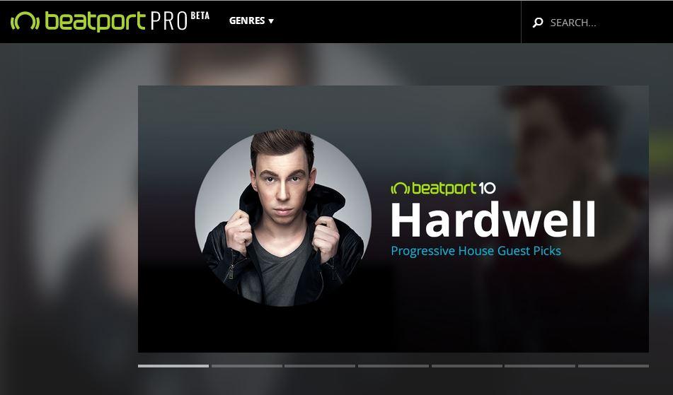 Beatport по-новому: Beatport Pro