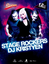 DJ Kristyen, Stage Rockers @ Shooters Club, Киев