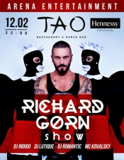 Richard Gorn Show @ Tao Club, Киев