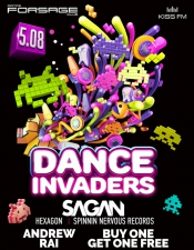 Dance Invaders @ Forsage, Киев