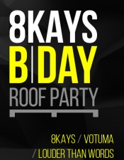 Louder Than Words @ 8Kays B/Day, K.Point Roof Party, Киев