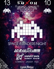 Space Invaders @ Saxon, Киев
