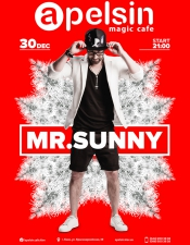 MR.Sunny @ Apelsin Magic Cafe, Киев