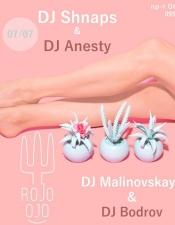 DJ Anesty @ Rojo Ojo, Киев