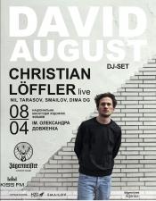 David August & Christian Loffler @ Киностудия Довженка, Киев