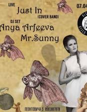 Anya Arfeeva, MR.Sunny @ Alchemist Disco Bar, Киев
