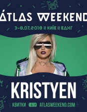 Dj Kristyen @Atlas Weekend, Київ