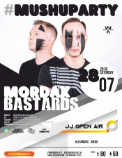 MORDAX Bastards @JJ Open Air, Виноградів