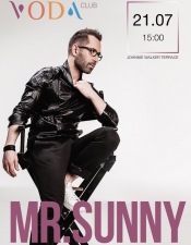 MR. Sunny@VODA club (Johnnie Walker Terrace), Буковель