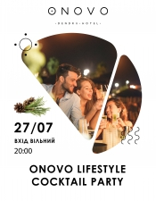Cocktail party @ONOVO Dendra Hotel, Київ