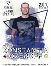 Konstantin Ozeroff @Victory Hall, Харків