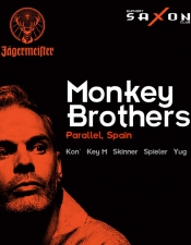 MONKEY BROTHERS (Spain) @Saxon Club, Київ