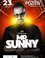 MR.Sunny @ Pozitiv (Brovary)