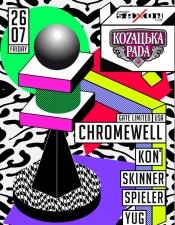 Chromewell (USA) @ Saxon Club, Київ