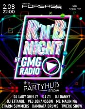 R'n'B Night by KISS FM Black by GMG @ Forsage, Київ