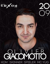 Olivier Giacomotto (France), @ Saxon, Київ