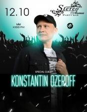 DJ Konstantin Ozeroff @ Stereo, Одеса