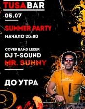 MR.Sunny @ TUSA BAR, Kyiv.