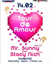 Mr.Sunny & Stacy Nich Live, Underhill @ Saxon Euphory Club, Kyiv.