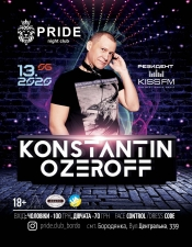 Konstantin Ozeroff @ Pride Club, Бородянка