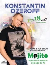 DJ Konstantin Ozeroff @ Mojito, Бердянськ