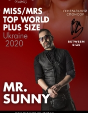 Mr.Sunny @ Miss / Mrs Top World Plus Size Ukraine 2020, Київ