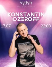 Konstantin Ozeroff @ Vydyh Bar, Київ