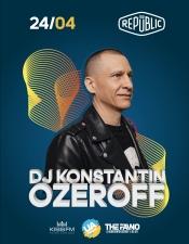 DJ Konstantin Ozeroff @ 3B Repablic, Кам'янське