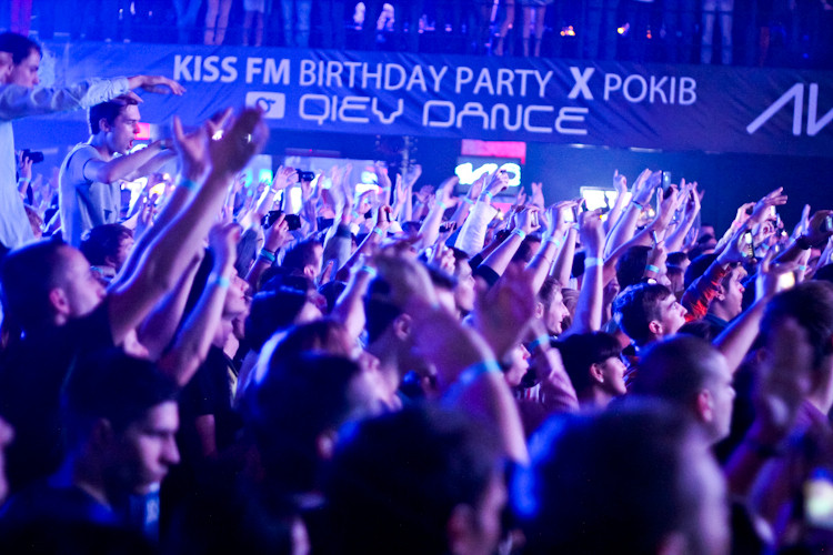 X ЛЕТ KISS FM @ Stereoplaza